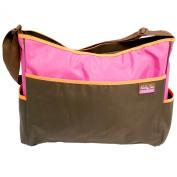 Baby Sac Shoulder Nappy Bag, Colour Block