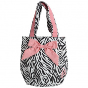 "Shopping bag 'french touch' ""Hôtesse"" zebra."