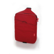 Phil and Ted's Mini Diddie Baby Bag in Red