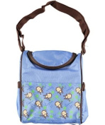 "Tender Kisses ""Lil' Monkey"" Insulated Bottle Bag - blue, one size"