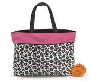 Sassi Safari Colourful Cheetah Tote Bag Fabric Black