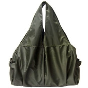 KF Baby UrBANE Nappy Bag, Army Green, with kilofly Mini Gift-for-You Card