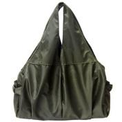 KF Baby UrBANE Nappy Bag, Army Green, with kilofly Mini Gift-for-You Card