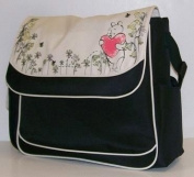 Disney Winnie the Pooh Large Garden Print Flap Nappy Bag
