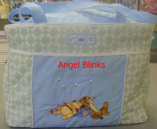 Disney Winnie the Pooh Large Nappy Bag- Blue