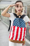 The American Flag Backpacks,men and Women Backpacks