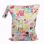 Snuggy Baby Large Wet Bag - Woodland Owls