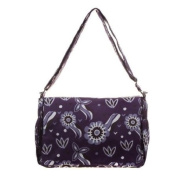 Bellotte Designer Nappy Carry All in Floral Plum