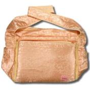 Gold Vines Silk Boutique Nappy Bag