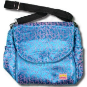 Blue Vines Silk Boutique Nappy Bag
