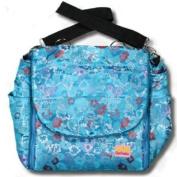 Blue Hawaii Silk Boutique Nappy Bag