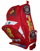 DISNEY PIXAR CARS LIGHTNING MCQUEEN SHAPED 30.5cm TODDLER BACKPACK
