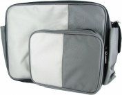 O Yikes Grey Medium Messenger Bag