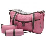Teafco Argo Momster Nappy Bag, Medium, Tokyo Pink