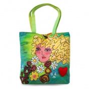 BrightFaces Blond Large Stylish/Colourful Tote Bag