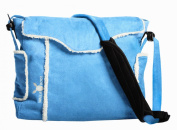 Wallaboo Baby Nappy Changing Bag - Soft Blue