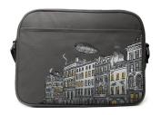 Caven Metro Nappy Bag, London Grey