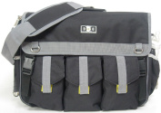 Nappy Dude Black Deluxe Nappy Bag