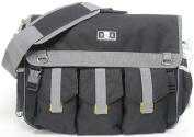 Nappy Dude Black Deluxe Nappy Bag