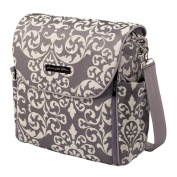Petunia Pickle Bottom Earl Grey Boxy Backpack