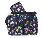 LeSportsac Ryan Baby Bag Nappy Bags - Zoo Cute