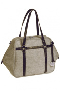 Lassig Green Label Urban Nappy Bag, Choco Mélange