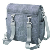 Fall 2012 Petunia Pickle Bottom Embossed Boxy Backpack Champs-Elysees Stop