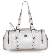 G - Luxe - White PU Faux 'Leather'