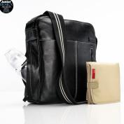Storksak - Jamie - Nappy Bag, Black