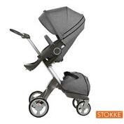 Stokke Xplory Style Kit Seat , Black Melange