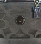 COACH SIGNATURE BROWN MULTI-FUNCTION Nappy TOTE BAG F18033 NEW WITH TAGS AND RECEIPT