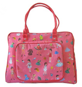 Room Seven Nappy Bag, Dressing Dolls Pink