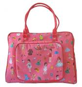 Room Seven Nappy Bag, Dressing Dolls Pink