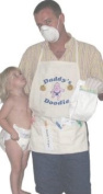 "Daddy's Nappy ""Doodie"" Apron - Unique New Dad Gag Gift- Baby Shower Gift Idea"