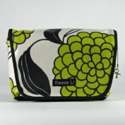 Reese Li Fairfax Changing Clutch - Green Tea Bloom
