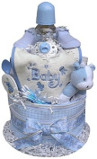 2 Tiered Boy's Nappy Cake