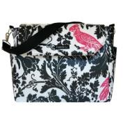 Reese Madison Messenger Bag - Pink Parrot