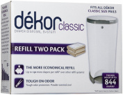 Dekor Classic and Regular 2 Pack Refill