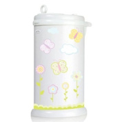 Ubbi Nappy Pail Decals - Butterfly