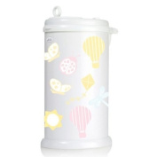Ubbi Nappy Pail Decals - Dragonfly
