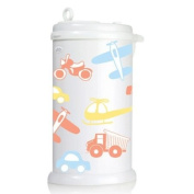 Ubbi Nappy Pail Decals - Transportation