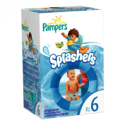 Pampers Splashers Size 6 Nappies 17 Count
