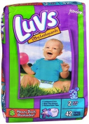 Luvs Ultra Leakguards Stage 2 Jumbo Nappies 42 ct