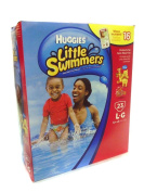Huggies Little Swimmers Disposable Swimpants 23 -LG - 32 plus lbs. Bonus 16 Wipes Included!