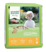 Seventh Generation - Free and Clear Baby Nappies Stage 3 (16