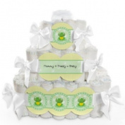 Froggy Frog - 3 Tier Baby Nappy Cake