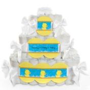 Baby Nappy Cake - Ducky Duck - 3 Tier