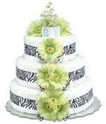 Bloomers Baby Green Daisies