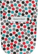 Diapees & Wipees Urban Dot Baby Nappy and Wipes Bag