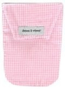 Diapees and Wipees Accessory Bag - Pink Gingham